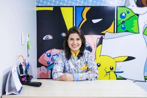Dentista Ianara Pinho oferece em sua clínica um consultório personalizado para crianças.